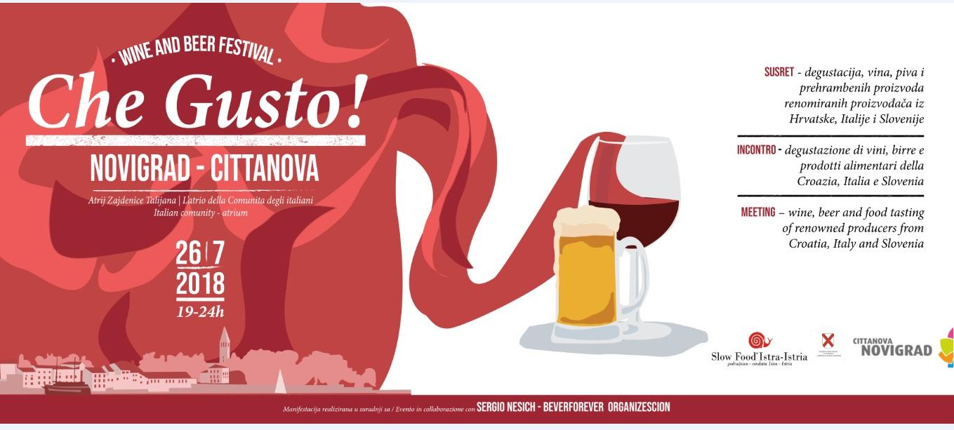 http://www.novigrad.hr/winebeer_festival_che_gusto