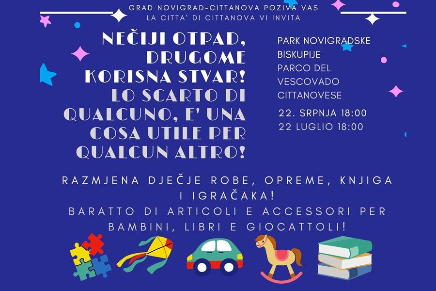 http://www.novigrad.hr/mercoledi_22_luglio_fiera_del_baratto_di_abbigliamento_attrezzature_libri_e