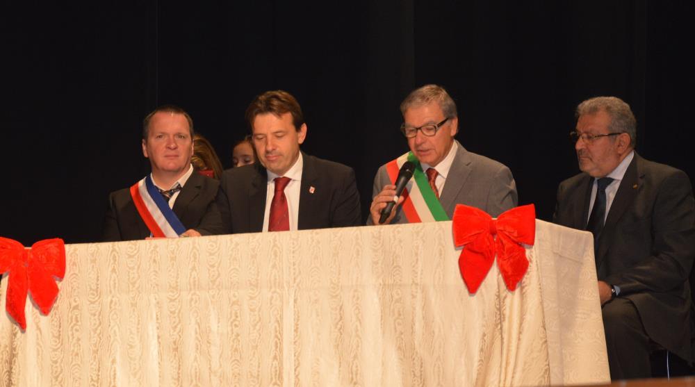 Firmato l'Atto di gemellaggio di Cittanova con la citta' italiana Sacile